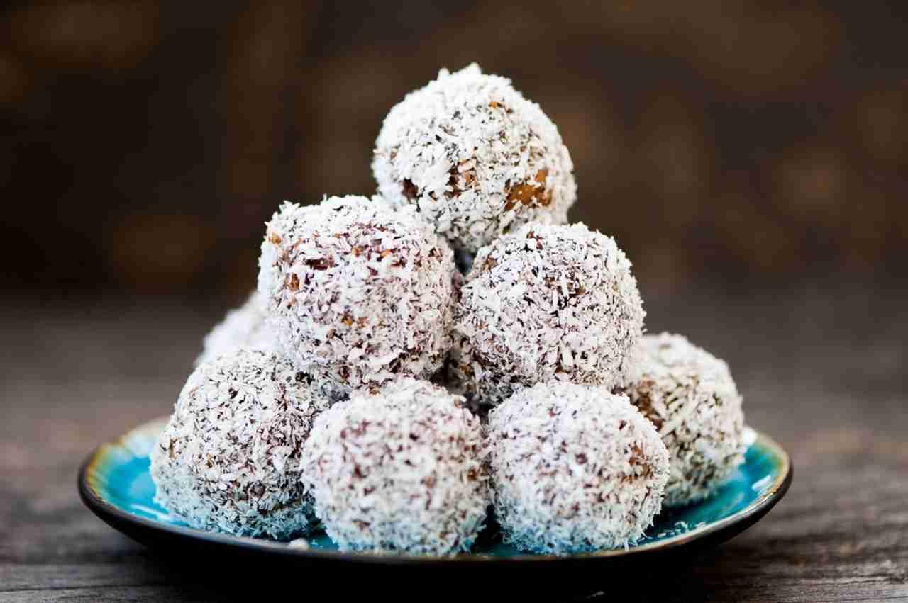 Palline al cocco nutella e mascarpone