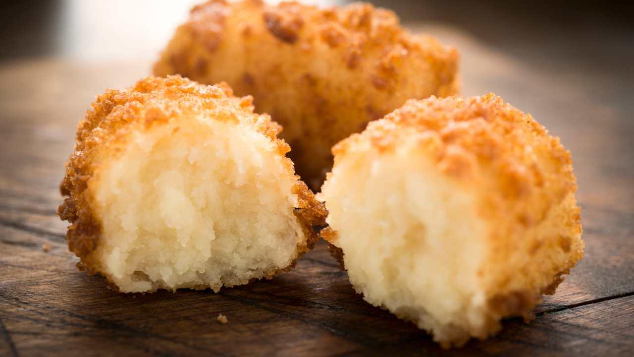 Polpette di patate e parmigiano al forno - ricettasprint