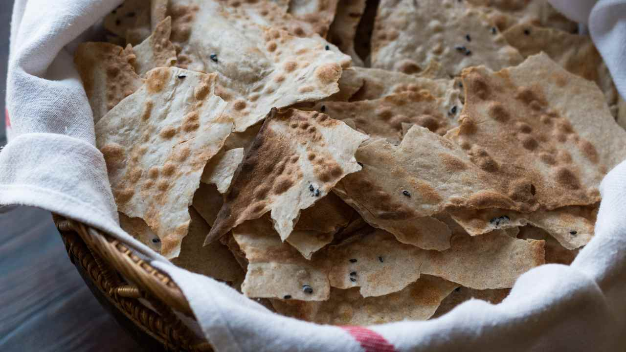 Sfoglie di pane croccanti - ricettasprint