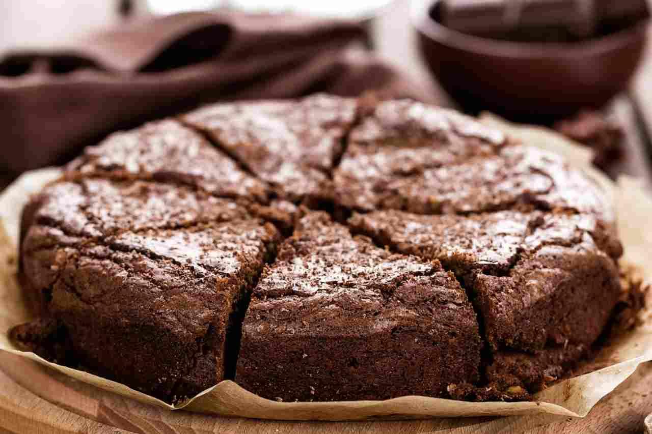 Torta al burro di arachidi e cioccolato fondente