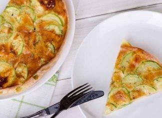 Torta invisibile di zucchine - ricettasprint