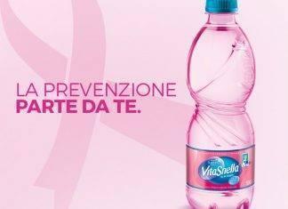 Tumore al seno, la campagna choc di acqua Vitasnella - ricettasprint.it