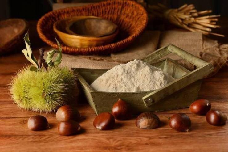 Cantuccini al Cioccolato e Farina di Castagne
