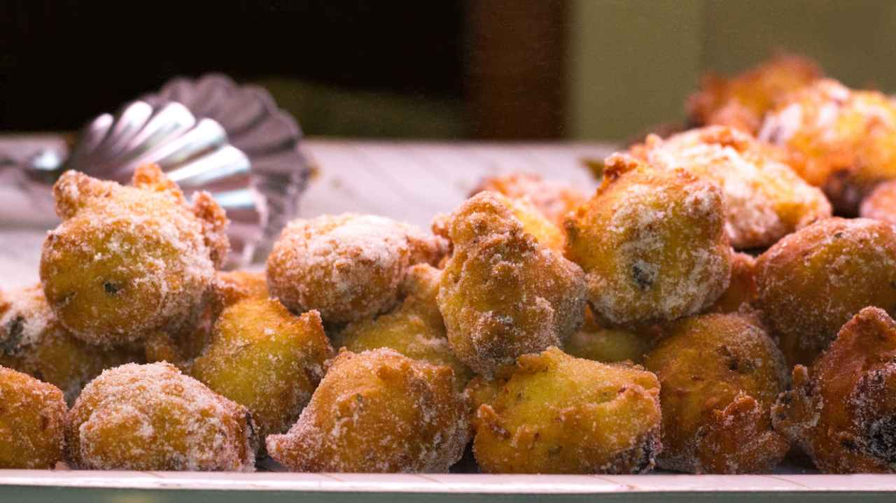 frittelle dolci alla zucca - ricettasprint