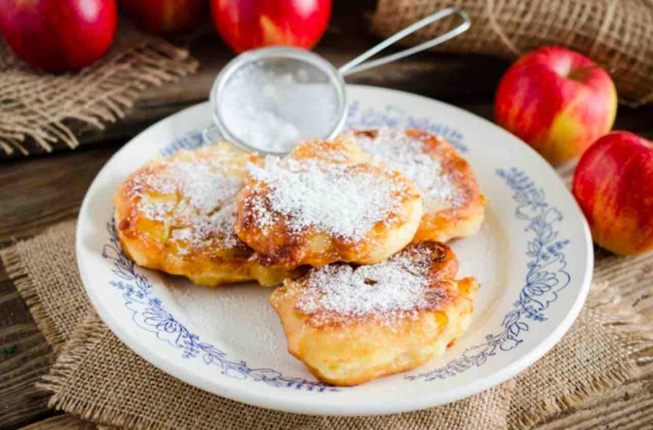 pancake di mele