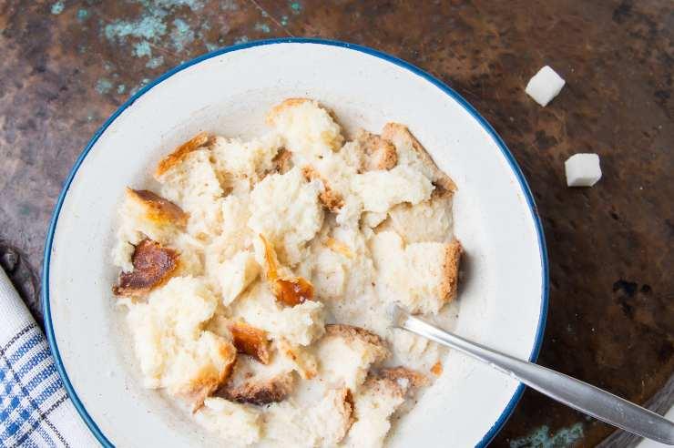 polpettone di pane con prosciutto cotto e scamorza - ricettasprint