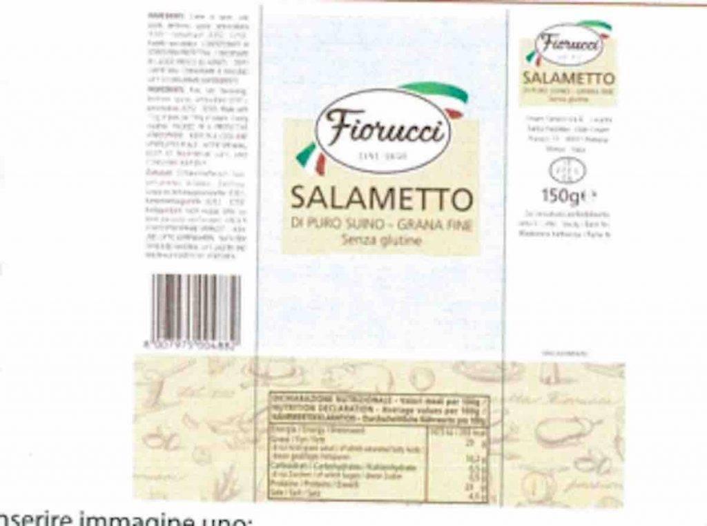 Ritiro Salametto Fiorucci