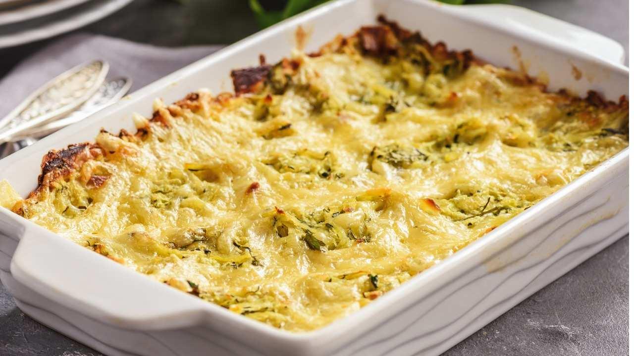Sformato di zucchine con formaggio