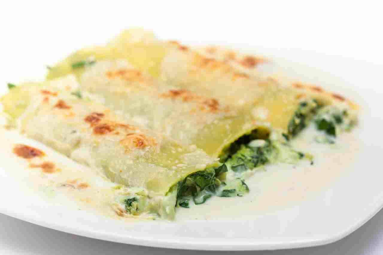 Cannelloni con verdure