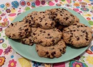 Cookies al cioccolato e nocciole ricettasprint