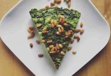 Frittata al Forno Spinaci e Mozzarella