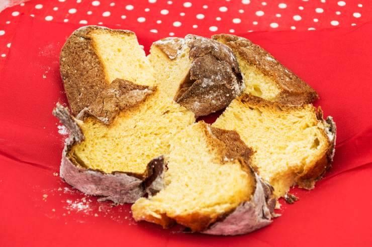 Tronchetto di pandoro al cacao - ricettasprint