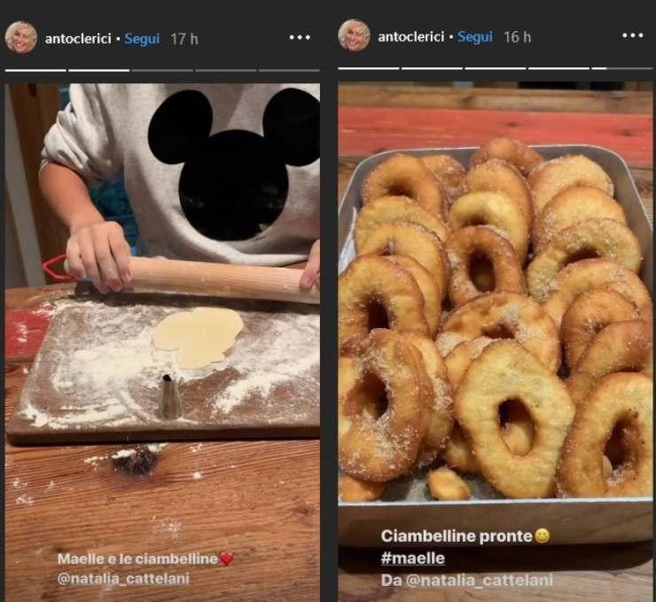 antonella clerici instagram maelle - ricettasprint