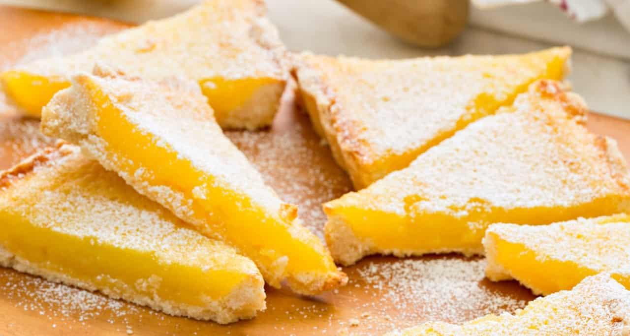 Torta al limone senza farina