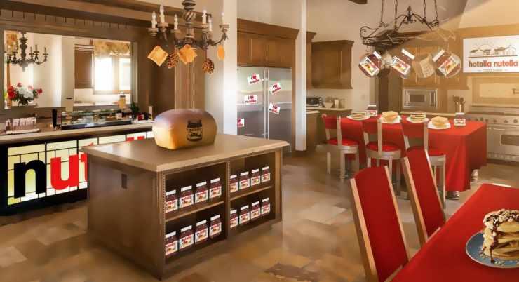 hotel Nutella - ricettasprint