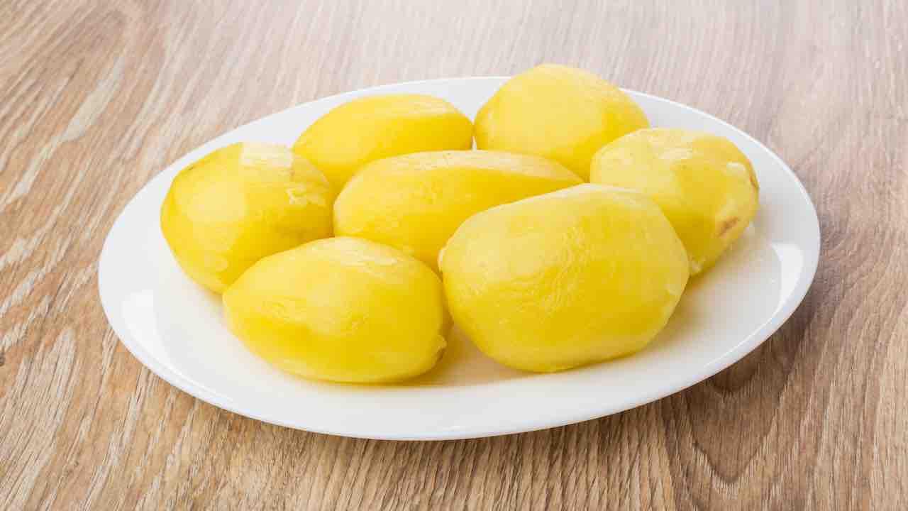 patate lesse al microonde