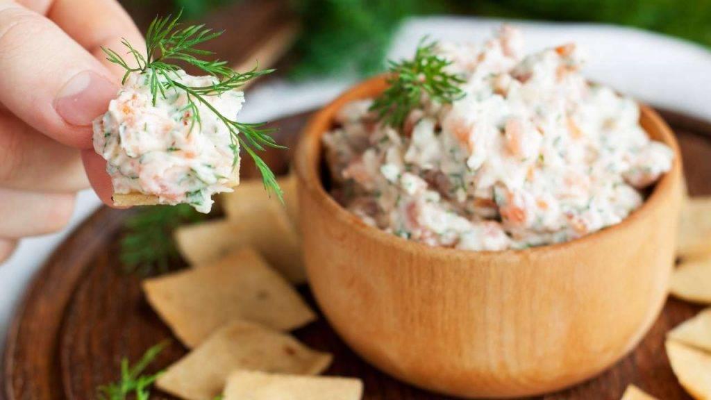 Mousse di salmone affumicato e philadelphia