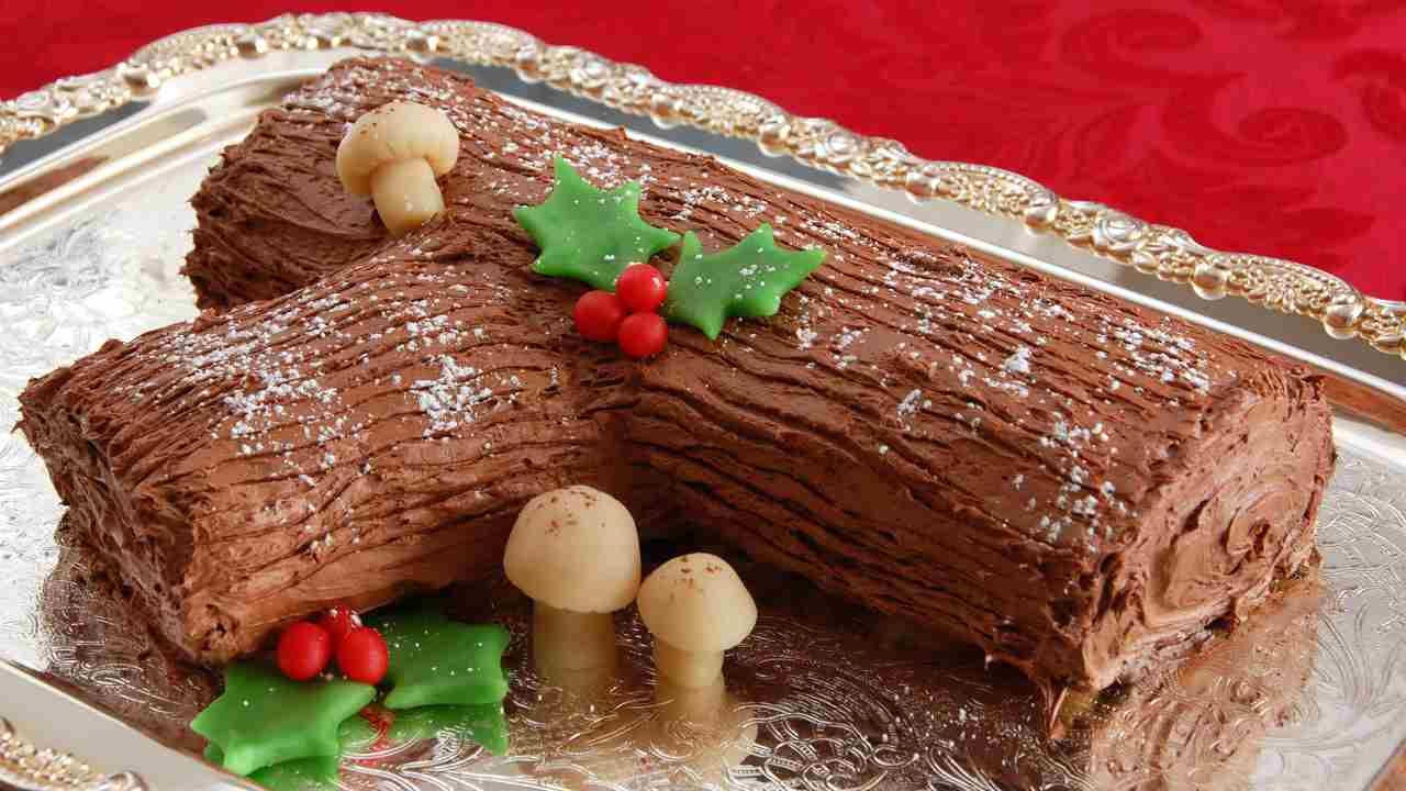 tronchetto di Natale leggero - ricettasprint