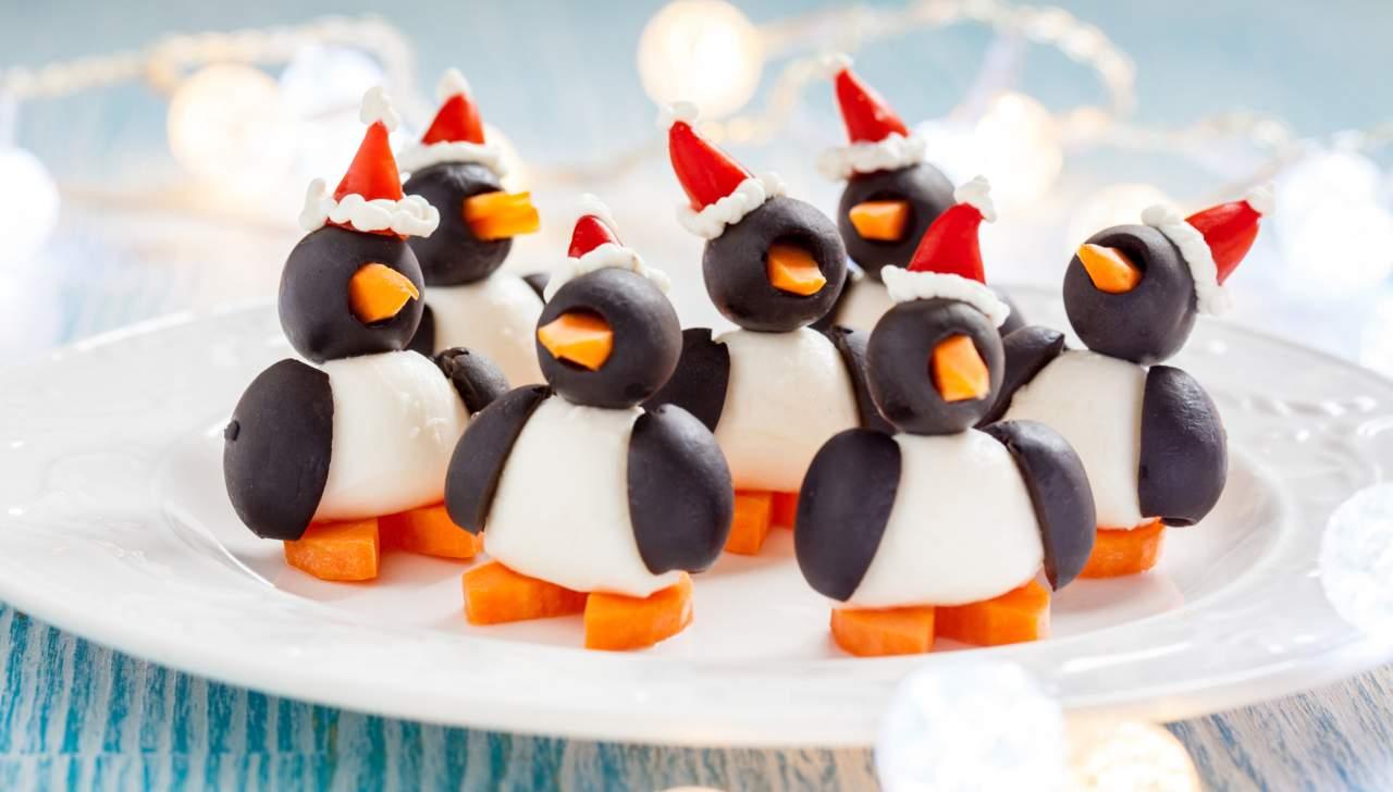 Bocconcini Pinguino pronti in 10 minuti - ricettasprint