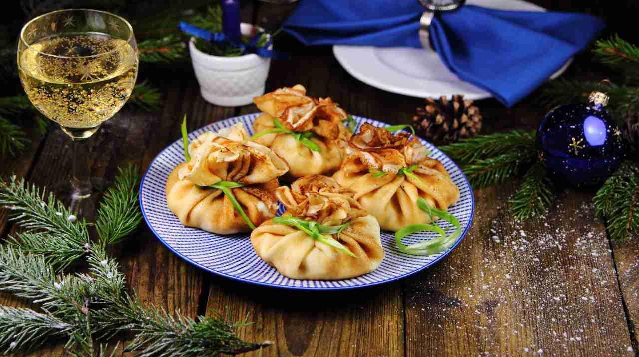 Fagottini farciti al gorgonzola - ricettasprint