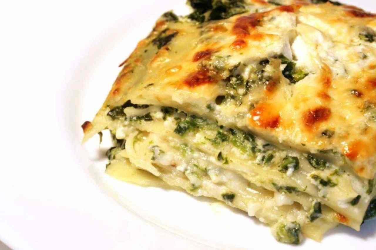 Lasagne Verdure e Taleggio