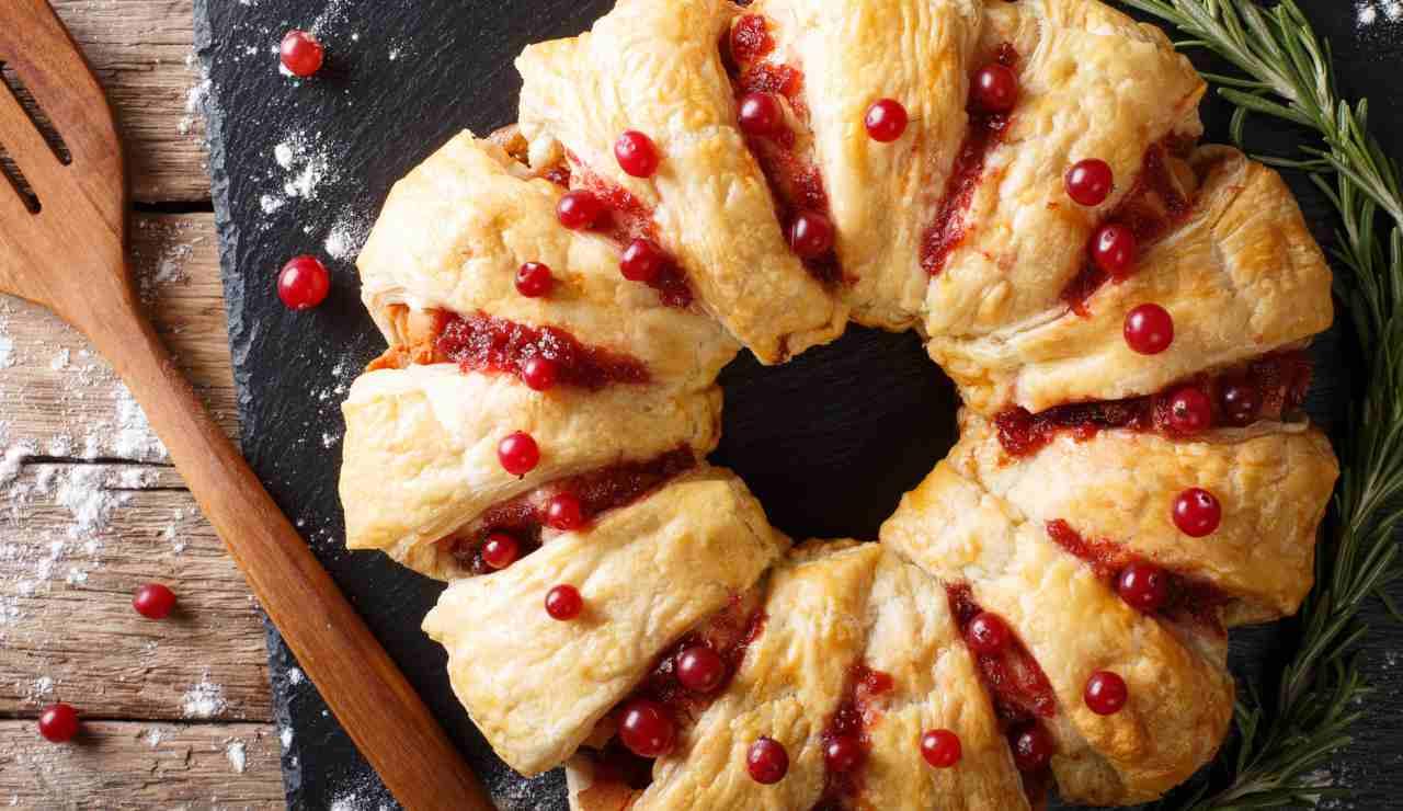 Ricette facili di Natale | Rustico filante ripieno di carne