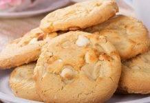 biscotti alla vaniglia e cioccolato bianco - ricettasprint