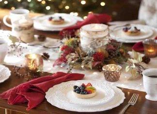 menu di Natale tradizionale