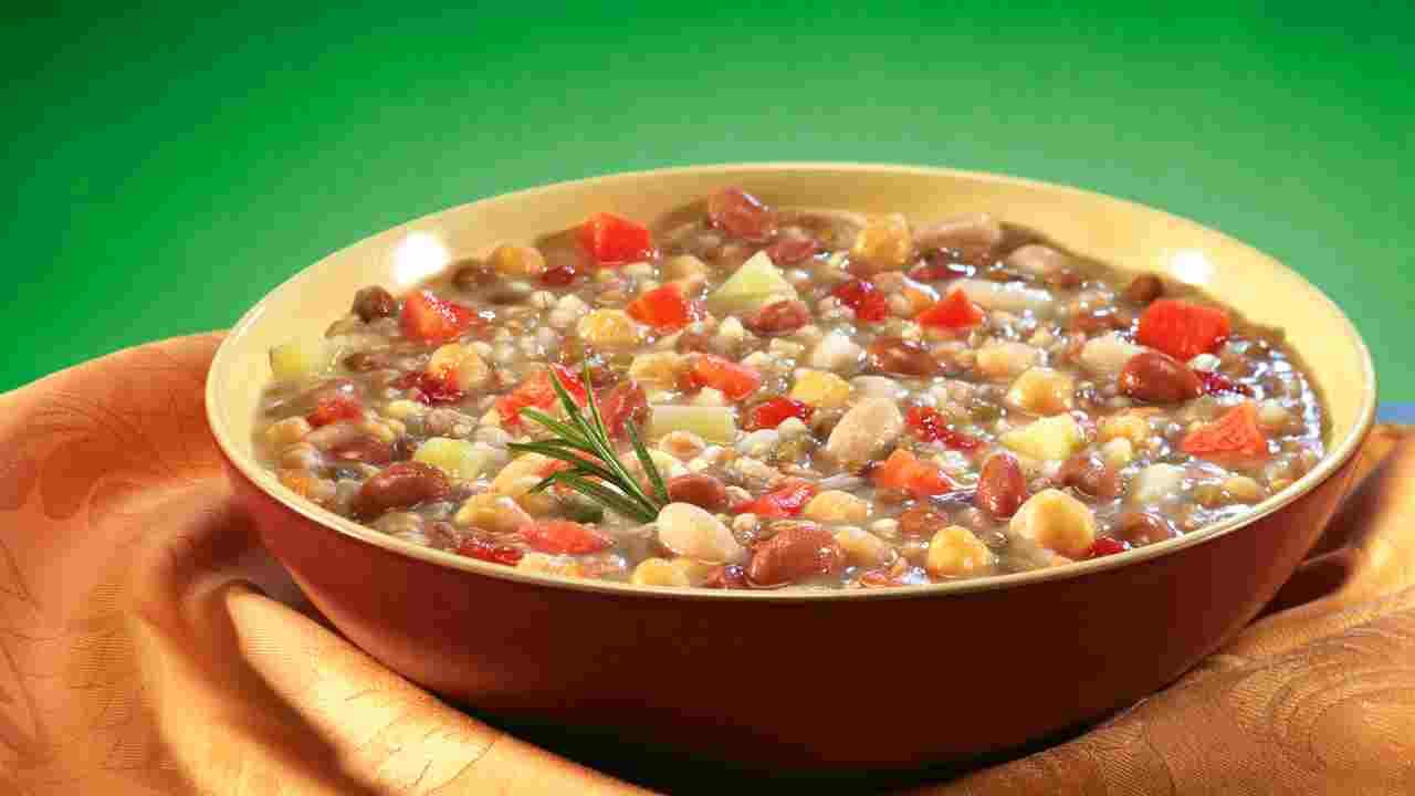 minestra con farro