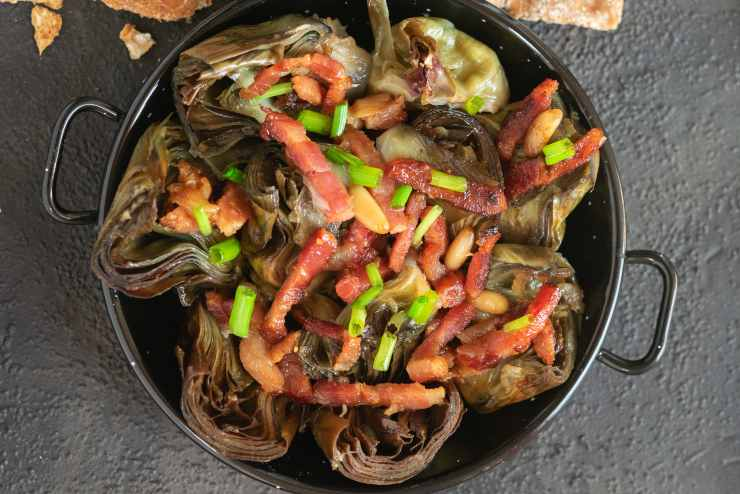 Crocchette di carciofi e pancetta - ricettasprint