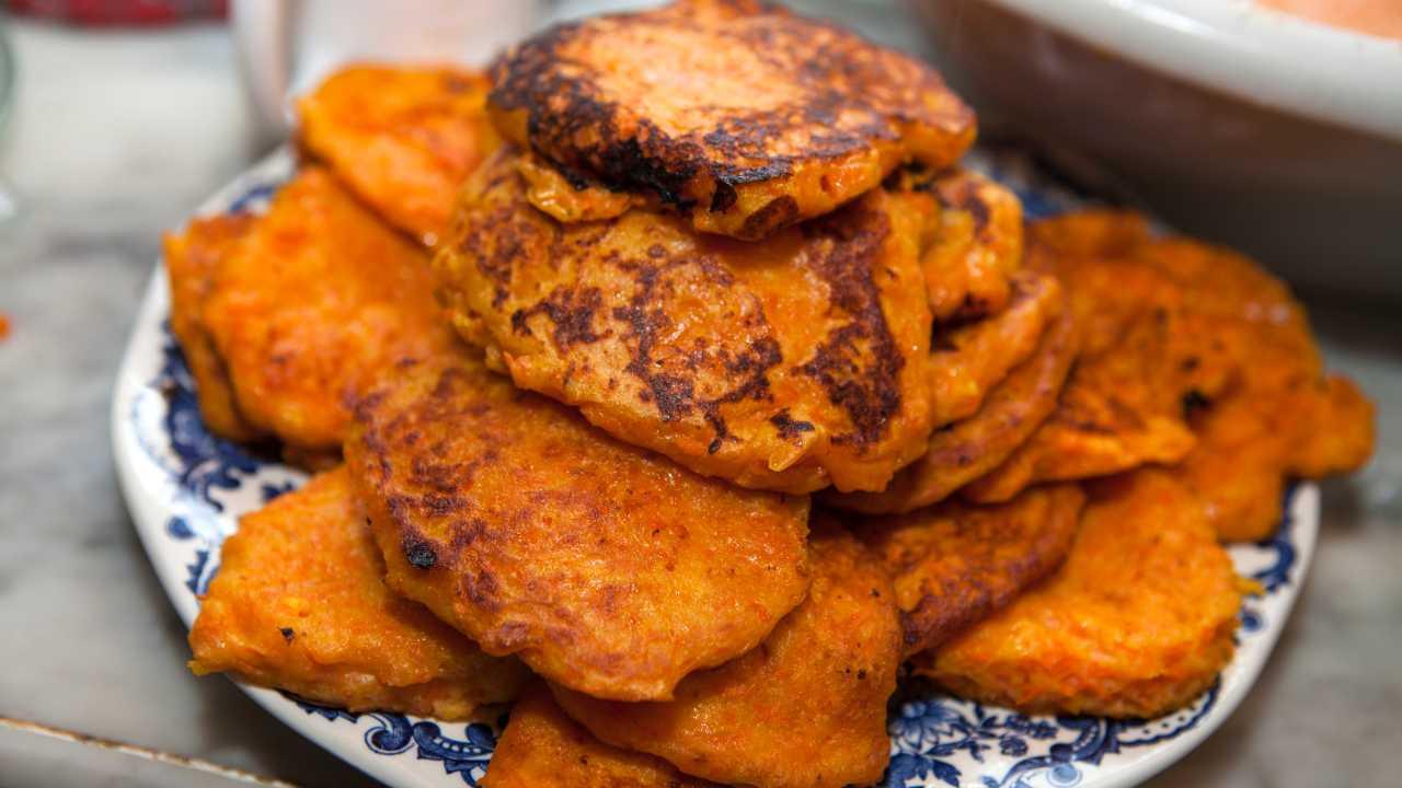 Frittelle di zucca e patate - ricettasprint