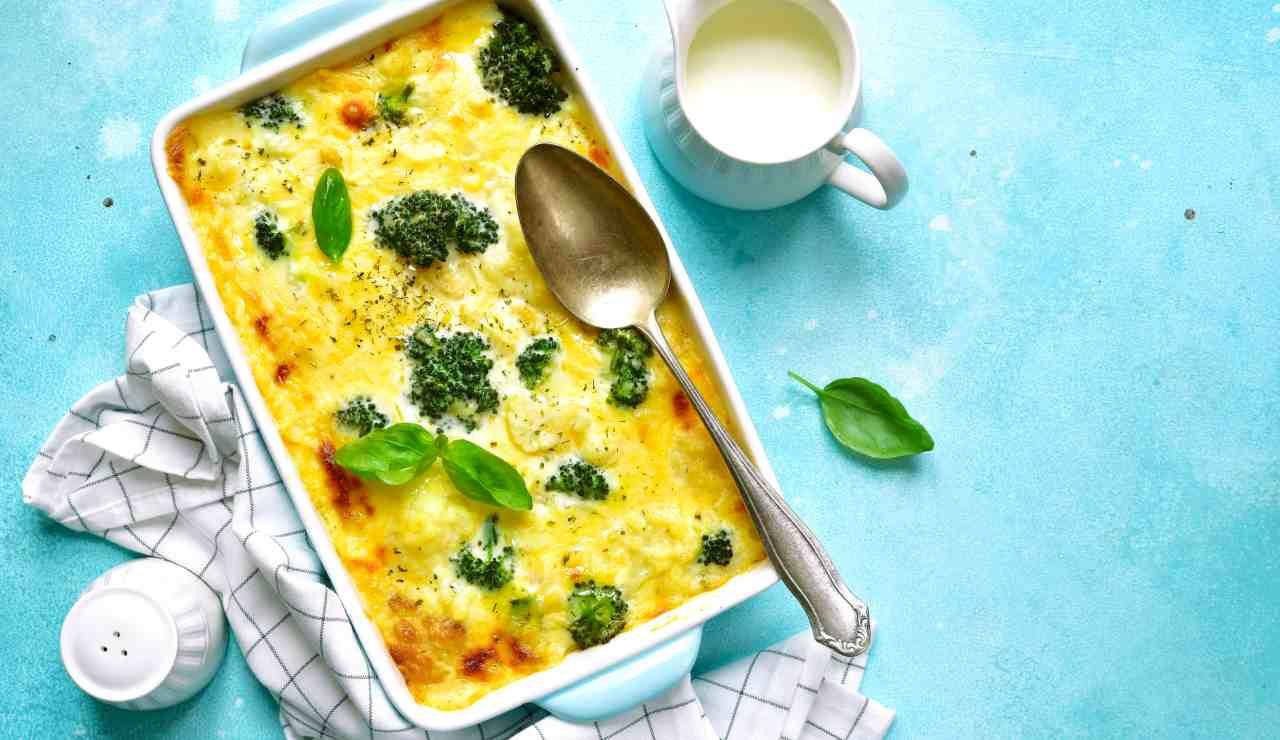 Lasagna ai broccoli e speck - ricettasprint