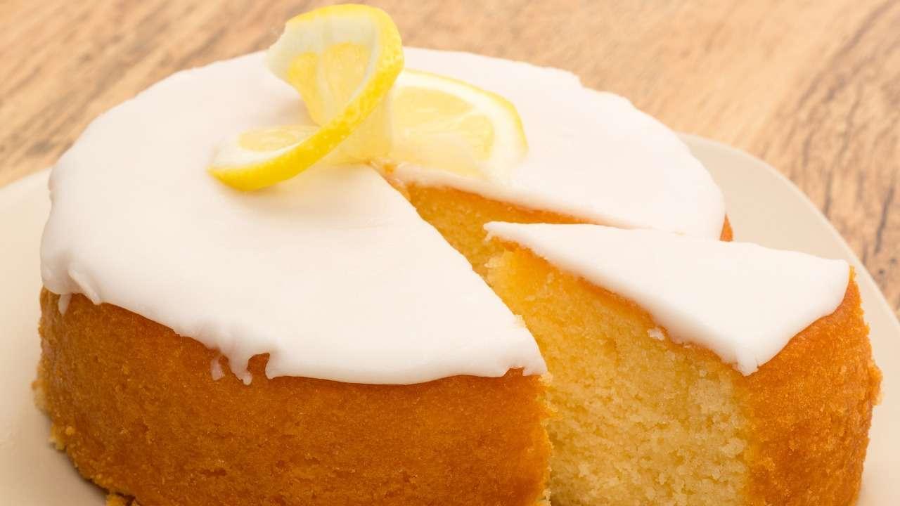 Torta al limone al microonde