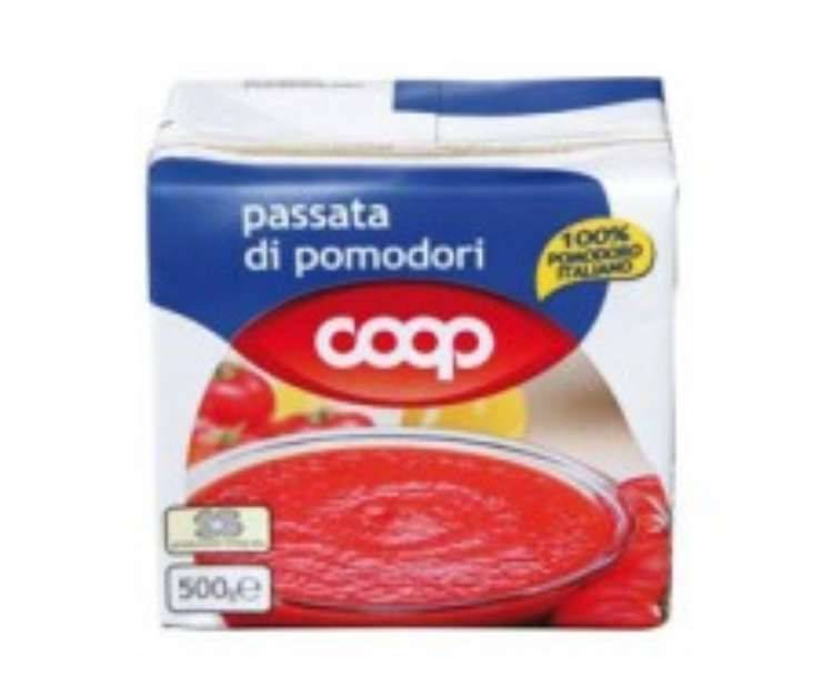 allerta coop muffa in passata pomodoro - ricettasprint