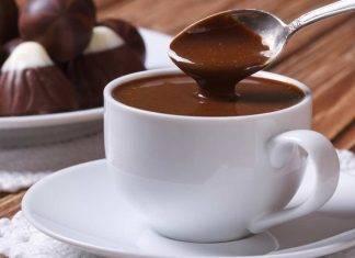 cioccolata calda veloce - ricettasprint