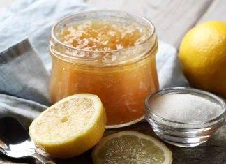 Marmellata di limone e mele