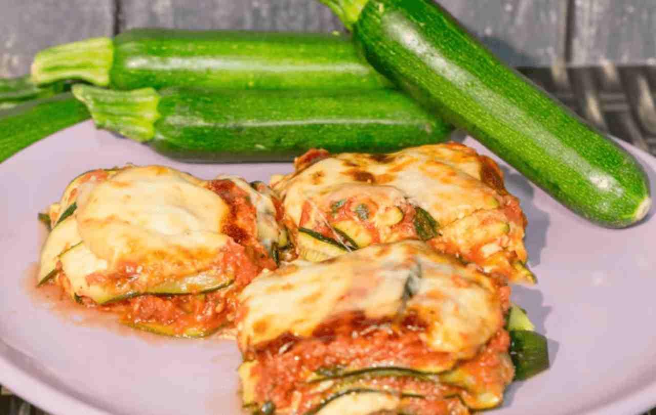 Parmigiana di Zucchine Mozzarella