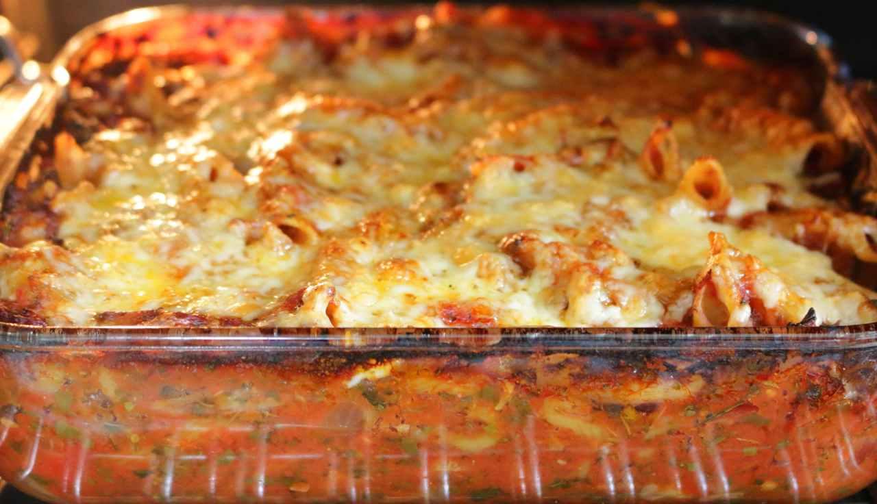 pasta alla contadina al forno - ricettasprint