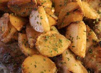 patate al forno croccantissime - ricettasprint