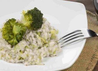 risotto broccoletti e acciughe - ricettasprint