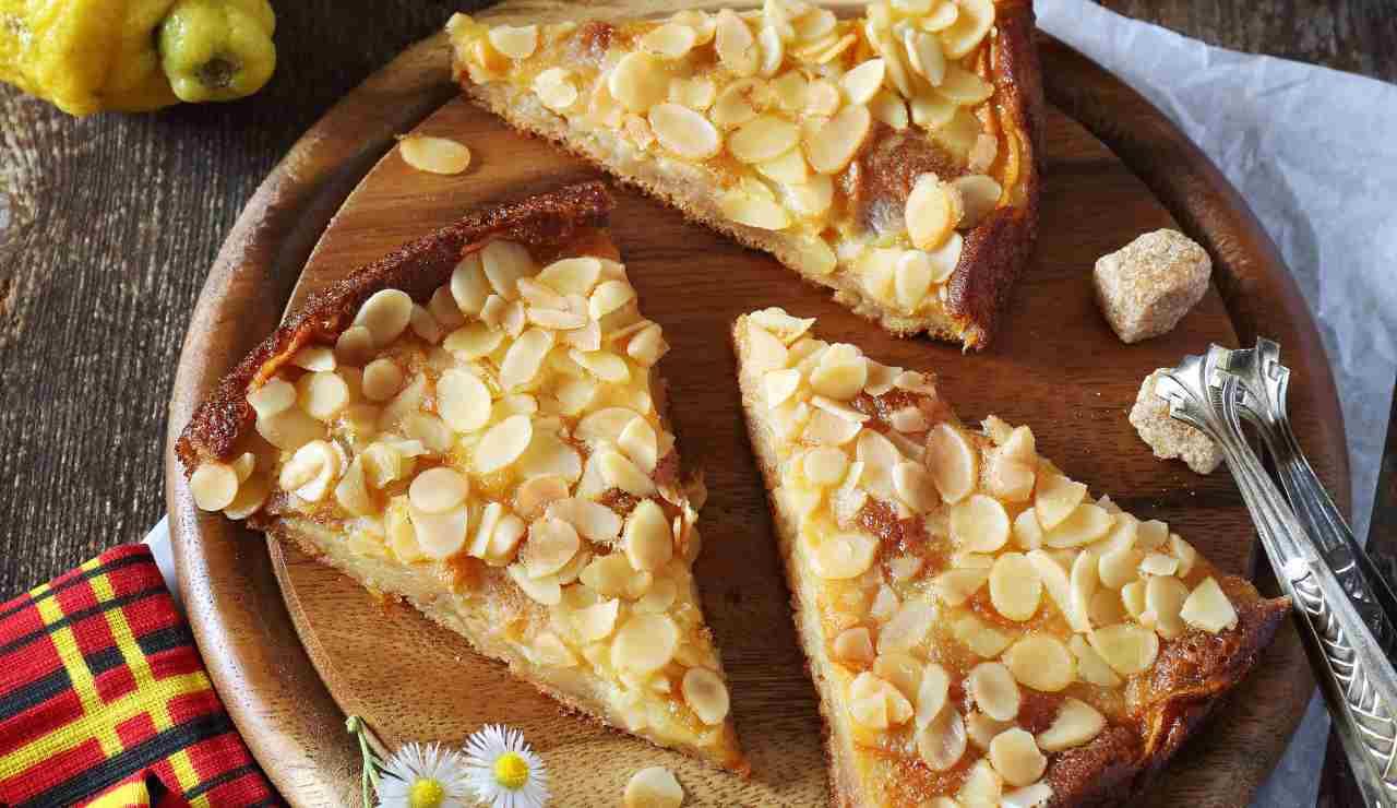 Crostata croccante con le mele - ricettasprint