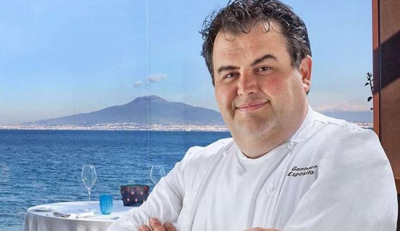 Gennaro Esposito chi è lo chef stellato curiosità e vita privata - ricettasprint