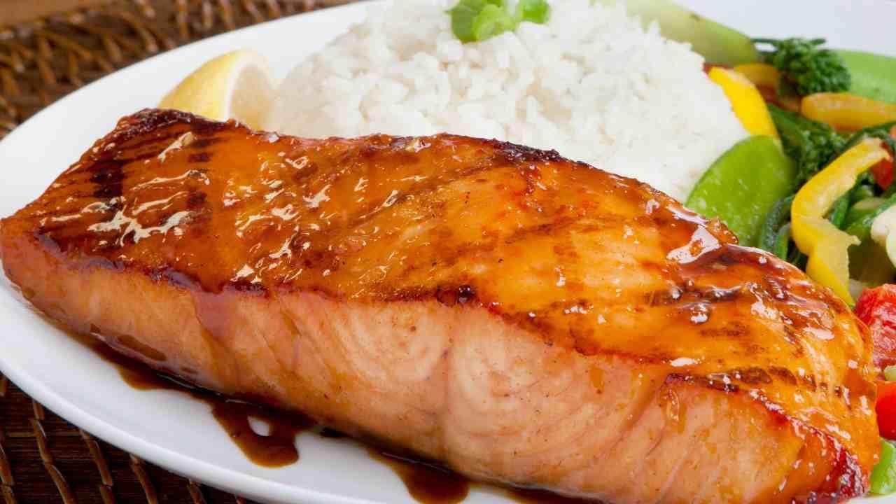 Salmone tandoori