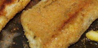 Spigola in crosta di patate