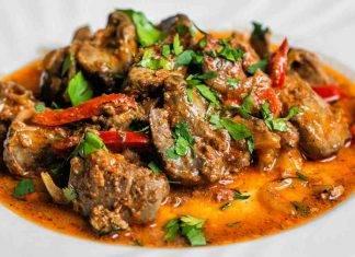 spezzatino di carne con peperoni - ricettasprint
