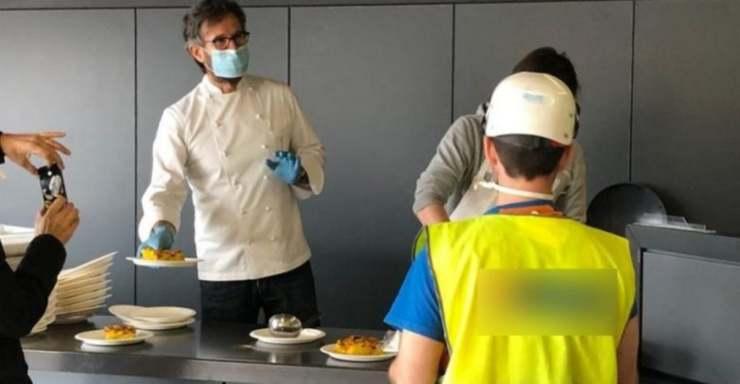 Carlo Cracco foto clamorosa diventa virale - ricettasprint