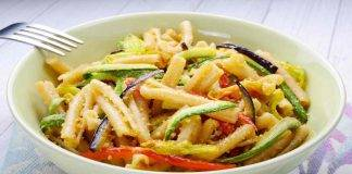 Casarecce con verdure gratinate