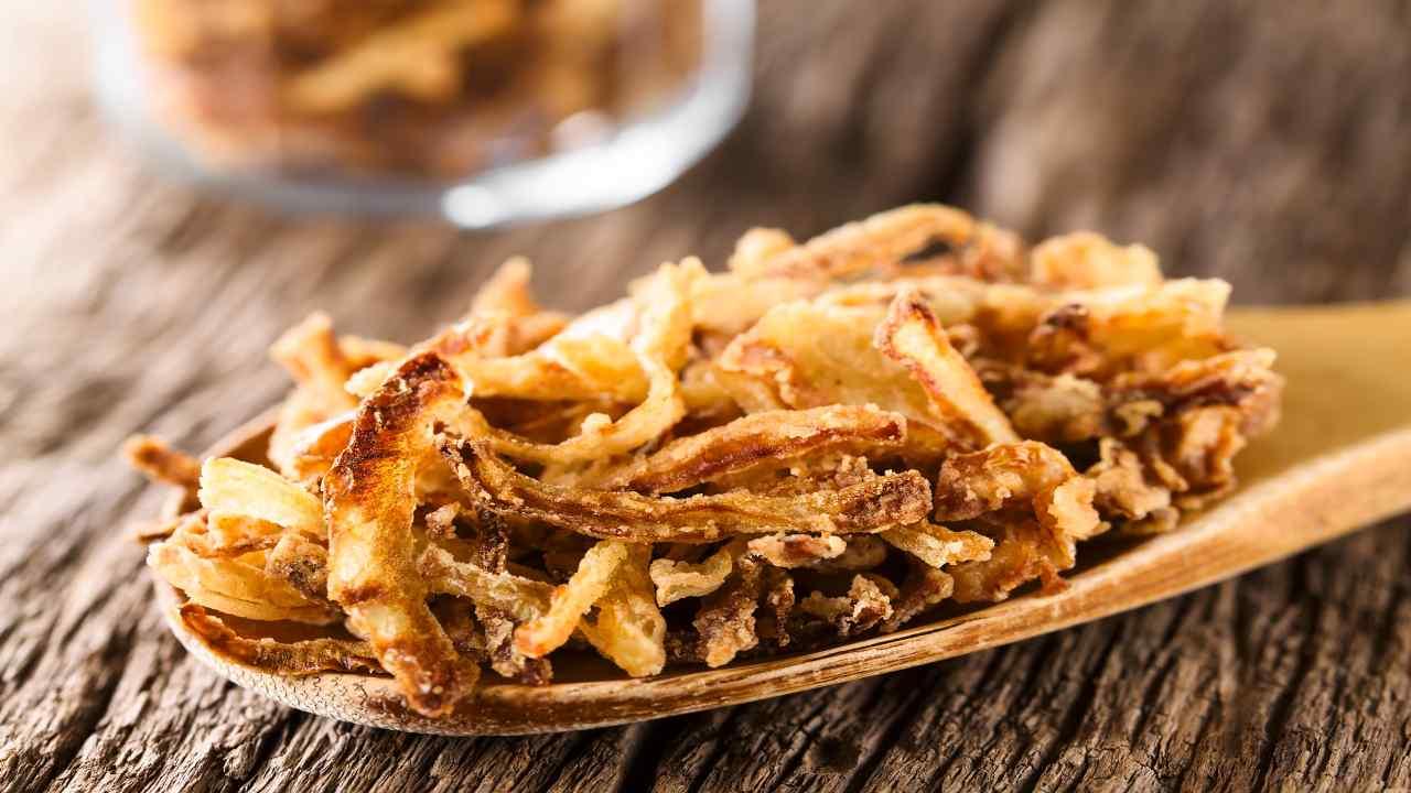 Cipolle fritte croccanti