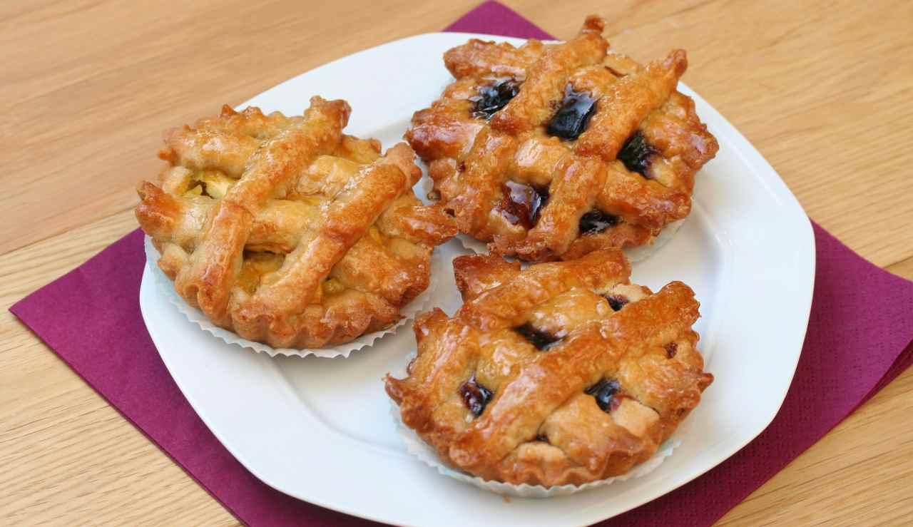 Crostatine alla marmellata di Anna Moroni - ricettasprint
