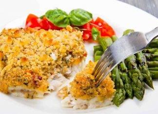 Filetto di merluzzo gratinato alle verdure - ricettasprint